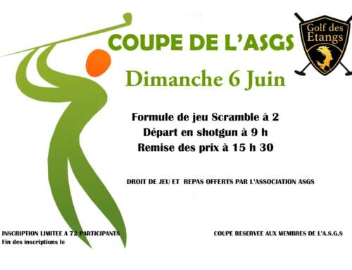 Coupe de l'ASGS dimanche 6 juin